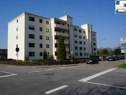 ! Hockenheim ! Erdgeschoß - Gepflegtes Appartement mit Balkon und Stellplatz