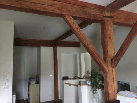 Neubauwohnung in Fachwerkgebäude mit 3,5 Zimmern in Bad Saulgau-Hochberg