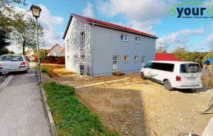 Moderne Doppelhaushälften mit hoher Energieeffizienz in ruhiger Lage