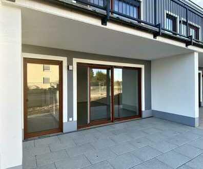 3-Zimmer-Wohnung mit 85 m² Wfl. und Terrasse in Bischofsheim
