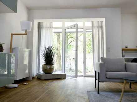 Modernisierte Wohnung mit Terrasse im Grünen!