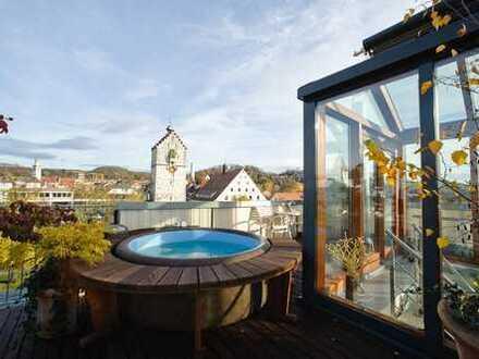 Extravagante Penthousewohnung im Stadtzentrum von Ravensburg