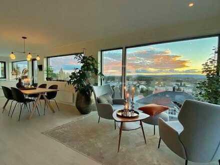 Von Poll Immobilien Sonnige, sanierungsbedürftige Wohnung in 1A-Lage mit Panoramablick