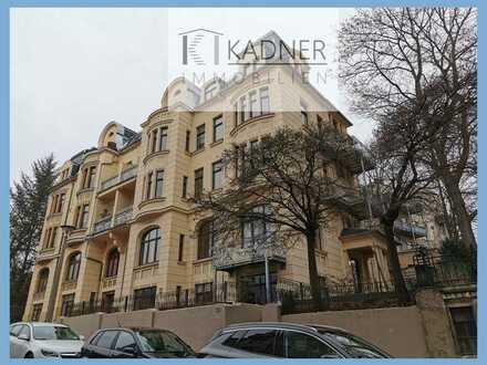 3 Zimmer, 2 Balkone, 1 Fahrstuhl, unmittelbar am Zentrumsrand