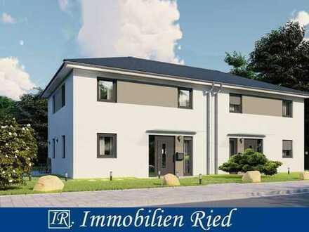 Modernes Wohnen! Neue Doppelhaushälfte in ruhiger Lage bei Manching!