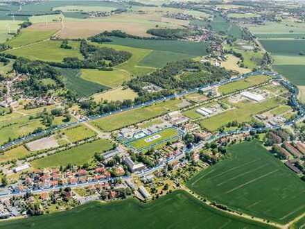 Industrie- und Gewerbepark Rositz - GE 4c (teilw.), GE 4d und GE 4e