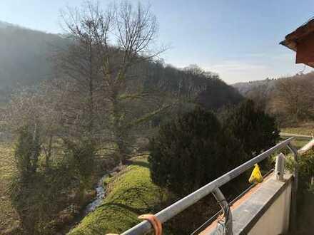 Wunderschön! Maisonette-Eigentumswohnung in naturverbundener Lage von Ober-Hambach