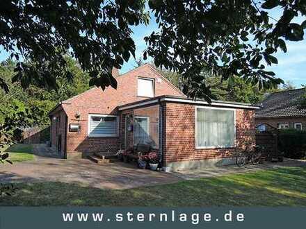 Wyk auf Föhr: Einfamilienhaus auf 740 qm großem Grundstück in ruhiger Lage
