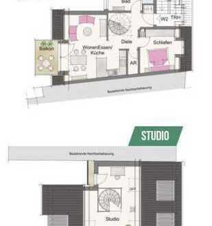 Stilvolle 3-Zimmer-Wohnung (Neubau) im Herzen von Neunkirchen am Brand