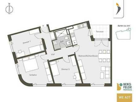 Hohen Neuendorf: Bergfelde Living | 4-Zimmer-Wohnung mit 109 m² und gehobener Aussattung