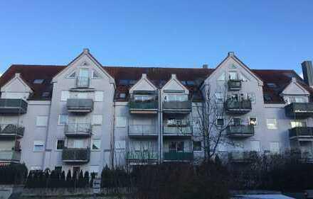 Sonnige, gepflegte 3-Zimmer-Wohnung mit Balkon in Mering, Bahnhofsnähe