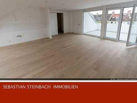 **Helle 4-Zimmer-Dachgeschosswohnung + Terrasse + offene Küche + EBK**