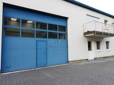 Gewerbehalle mit angrenzender Büroeinheit im Gewerbegebiet Dinslaken-Süd!