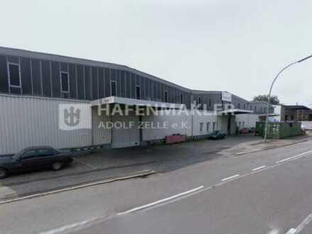 Lager- und Produktionshalle direkt im Hafen!