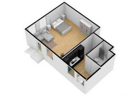 RE/MAX - Geräumiges und modernes 1 Raum Appartment in zentraler Lage