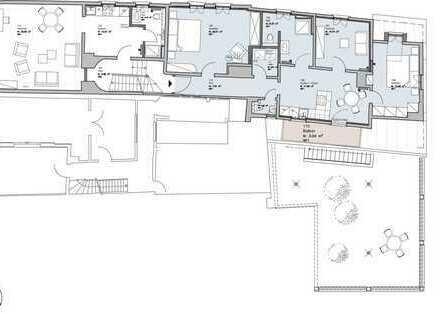 Erstbezug nach Sanierung: ansprechende 4-Zimmer-Wohnung mit Balkon in Miltenberg