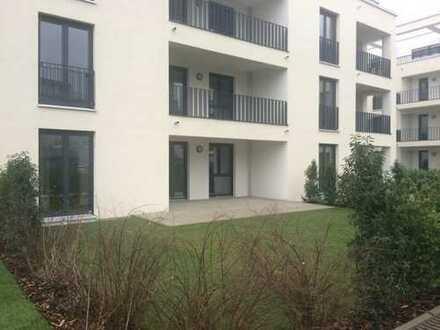 3 Zimmer-Neubauwohnung mit Garten und Terrasse