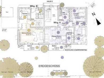 Großzügige 3-Zimmer-Wohnung mit Garten in 4-Familienhaus in attraktiver Lage von Pfaffenhofen/Ilm