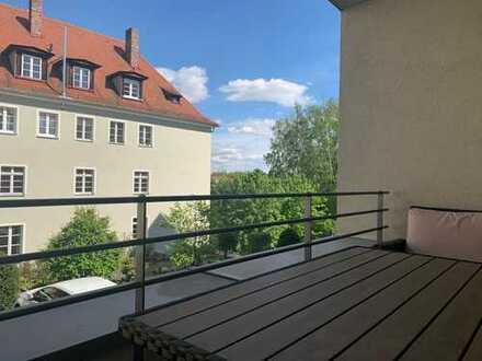 Neuwertige 3-Zimmer-Wohnung mit Balkon und Einbauküche in Bamberg