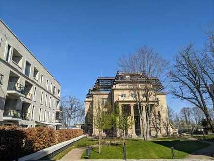 Palais du Rhin, Sonnige 2,5-Raum-Wohnung, Südbalkon und Park