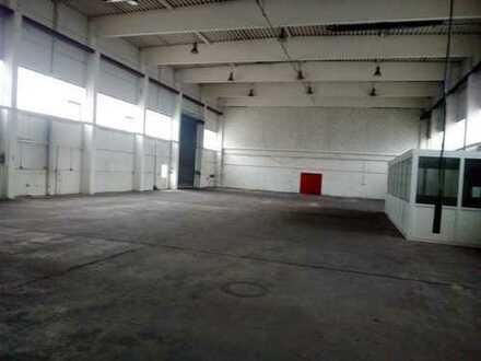 Produktions-/Lagerhalle mit 6t Schwerlastkran (Optional mit zusätzlichen Büroflächen)