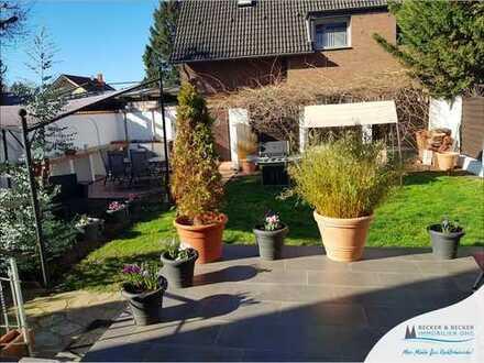 Wohnen und arbeiten unter einem Dach!  Haus im Haus mit großem Garten und Stellplatz in Rheinnähe