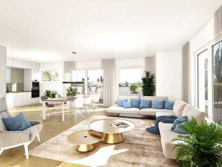 PENTHOUSE: Sonnige 5-Zimmer-Neubauwohnung mit traumhafter Aussicht!
