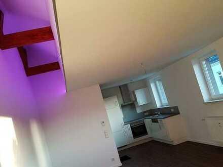 Neuwertige 1-Zimmer-Loft-Wohnung mit Einbauküche in Neunkirchen
