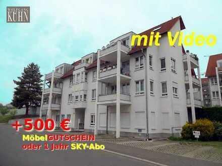 500€ geschenkt - Marienthal - 2-Raum WE mit EBK und Balkon und Stellplatz
