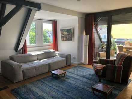 Barkhof/ Großzügige 4-Zimmer-Wohnung mit Südwest-Balkon und luxeriöser Einbauküche