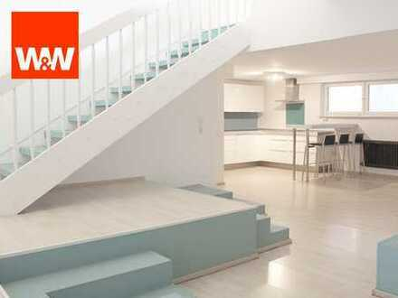 Räume im 1. Untergeschoss und Hanggeschoss in Stuttgart-West ab sofort frei!