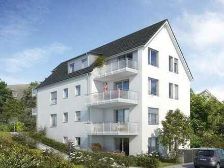 2-Zimmer-Neubau-Wohnung im EG mit Terrasse und eigenem Gartenteil
