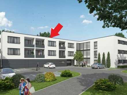 Betreutes Wohnen - Erstbezug: stilvolle 2-Zimmer-Wohnung mit Einbauküche und Balkon in Albershausen