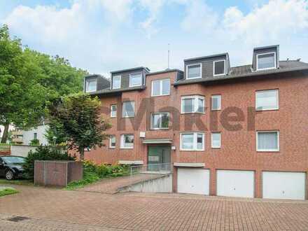 Moderne 3-Zimmer-Etagenwohnung mit Balkon in grüner und urbaner Lage