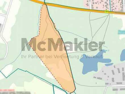 Sehr großzügiges Grundstück mit über 14 ha für Forstwirtschaft vor den Toren von Finowfurt