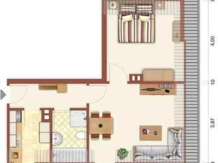 Günstig in die erste eigene Wohnung! Hochschule Ruhr-West Bottrop: 2-Zimmer-Dachgeschosswohung