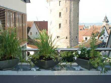 Exclusive 3. bzw. 4-Zimmer Maisonettewohnung mit Aufzug u. Balkon! Direkte Stadtmitte 2xTG u. 1xAA