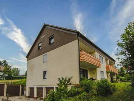 Sehr ruhig gelegene Zwei-Zimmer-Wohnung in Bad Steben