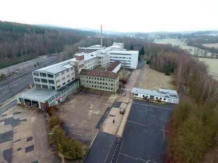 Gewerbe-Areal mit 98.800 m² und Gleisanschluss - Provisionsfrei
