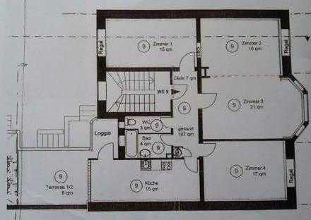 3-Zimmer-WG in der Bergheimer Strasse