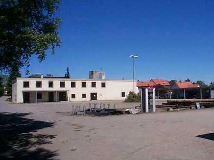 Büro- und Lagergebäude auf Teilgrundstück in Tirschenreuth