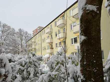 Traumhaft ruhige 3 Zimmer-Etagenwohnung mit Südbalkon