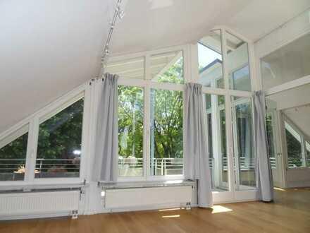 DG-Maisonette Whg. mit gr. Balkon in Villenlage München-Sendling