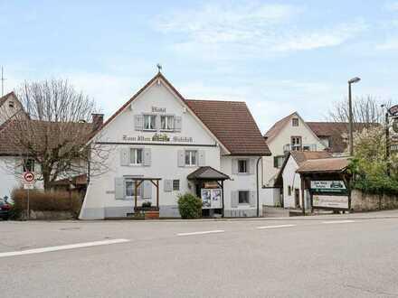 Ihre Chance zentral in Efringen-Kirchen: bekanntes Gasthaus mit Restaurant, 16 Zimmern u 2 Wohnungen
