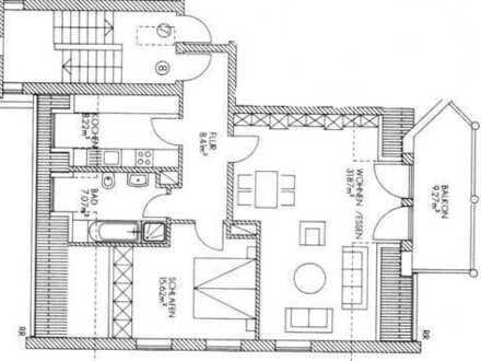 2 Zimmer WHG A-Hochzoll Süd