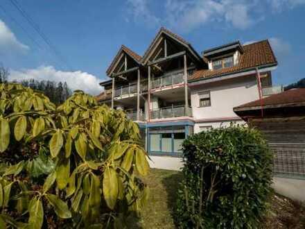 Gepflegte 2-Zimmer-Wohnung mit Balkon und Einbauküche in Wembach