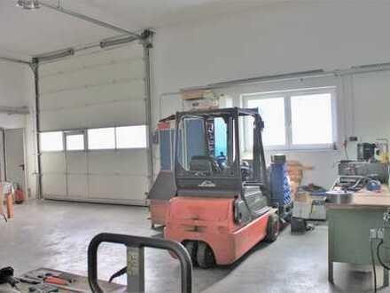 Hochwertige Produktions-Halle + Stellplätze und EFH mit 3 Garagen in Graben-Untermeitingen