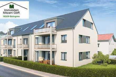 """Wohnglück BEILNGRIES: Neubau 3-Zimmer-Dachgeschoss-Wohnung """"An der Flur"""" (provisionsfrei)"""