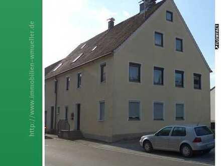 Wohnen mit schönem Blick auf die Burg! 4 Zi./K/Bad ca. 85m² Wfl. nord-westl. von Donauwörth!