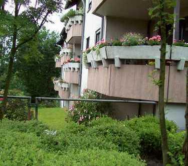Komfortwohnung mit offenen Kamin & Sonnen-Balkon, 3 Zi., Designer-Wannenbad &Tiefgaragen-Stellplatz.